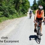 The daily climb.